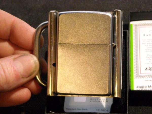 Zippo Lighter And Custom Belt Buckle Holster Stainless Steel