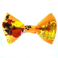 Lion King Bow Ties by loopsandbows on Etsy