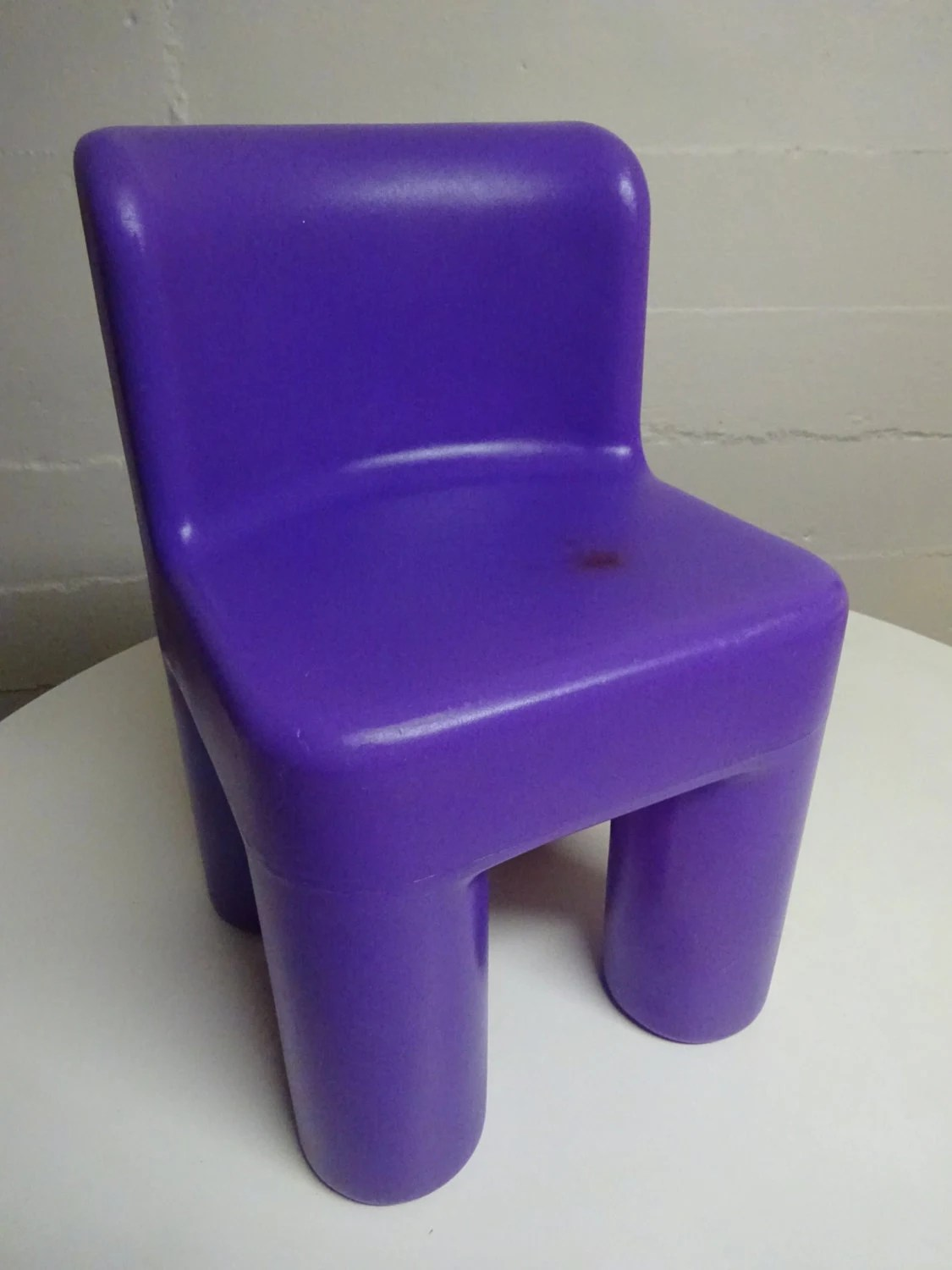 little tikes chairs rustic chair pads vintage purple free shipping