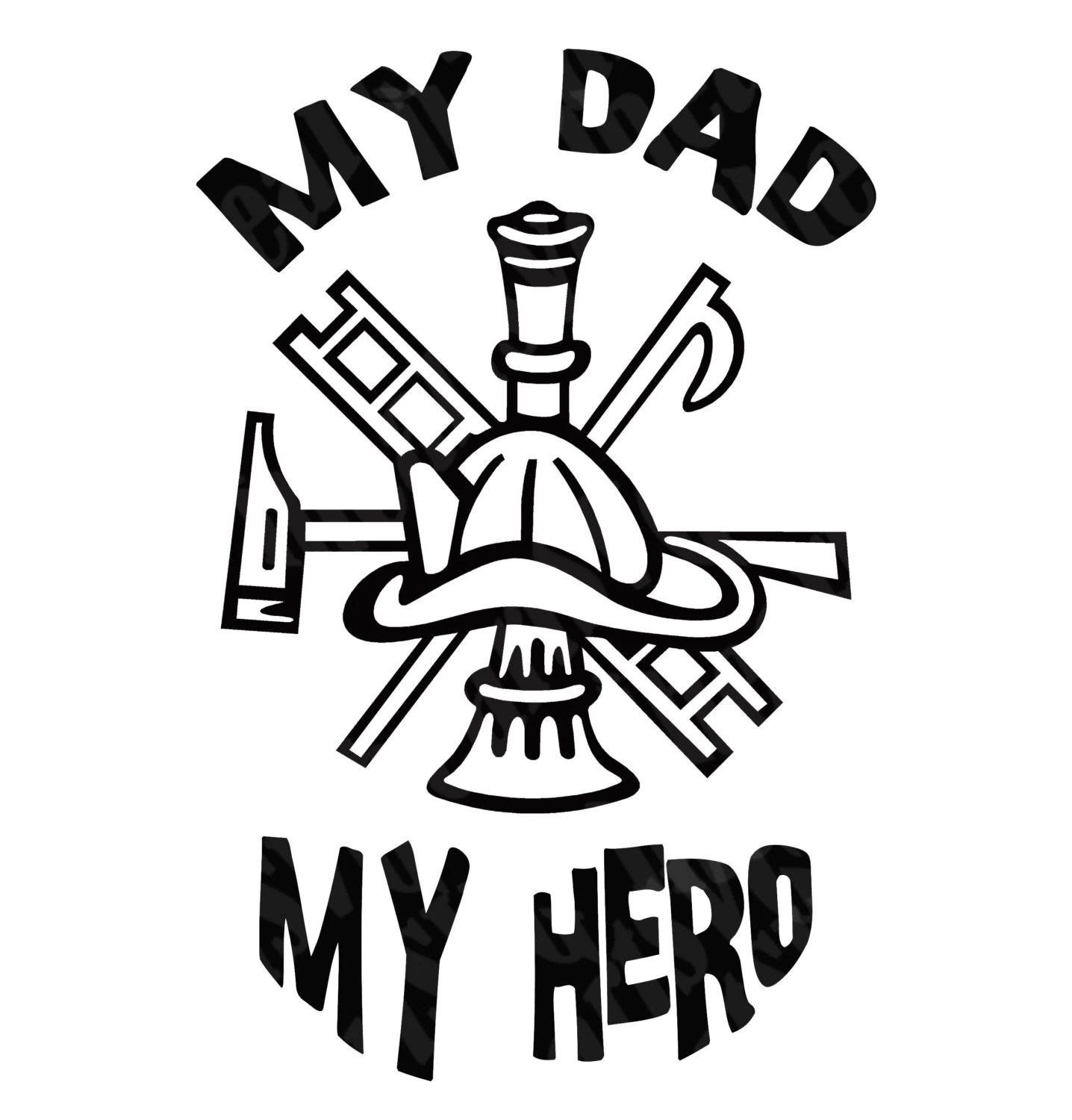 50 Off Father S Day Firefighter Hero Dad Svg