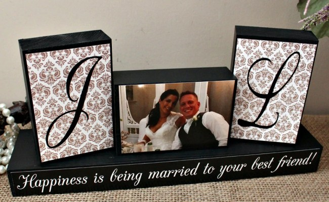 Personalized Unique Wedding Gift For Couples By Timelessnotion