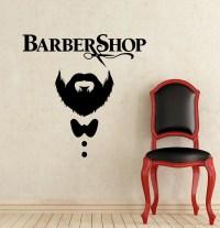 Barber Shop Wall Decal Hairdressing Salon Vinyl Sticker Decals