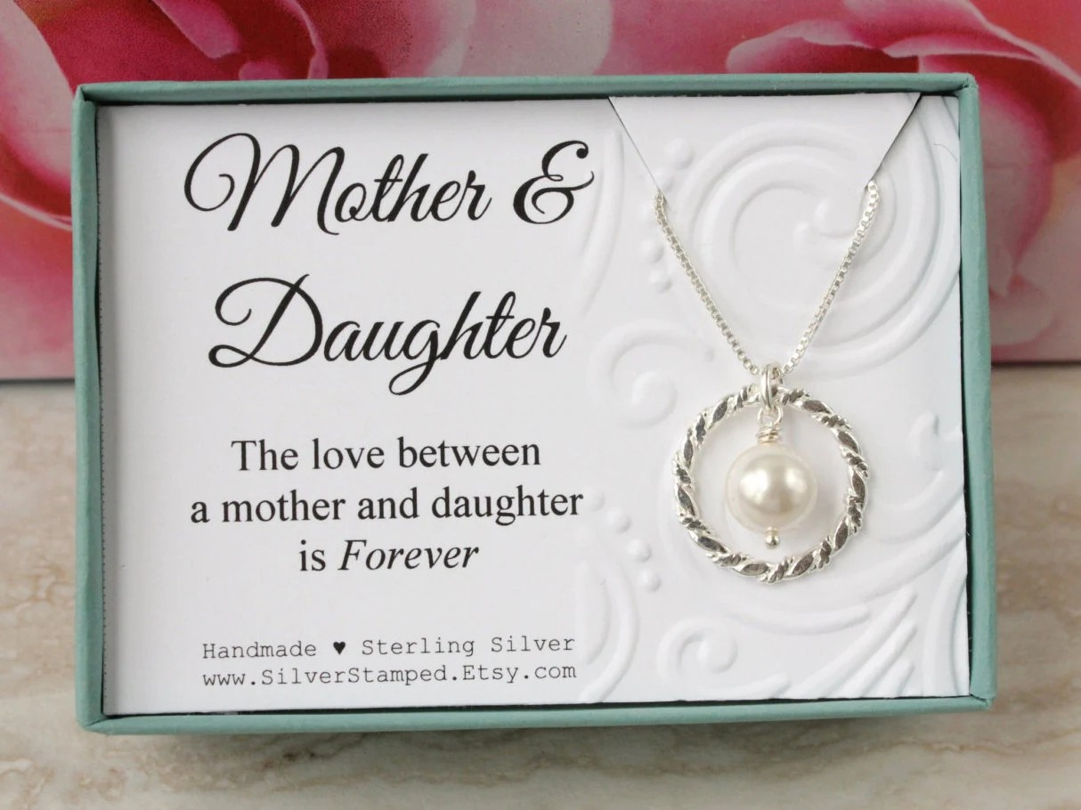 Gift For Mother Of The Bride Gift From Daughter Gift For Mom