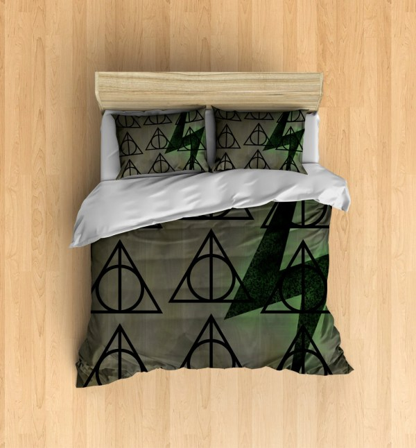 Deathly Hallows Bedding Harry Potter Inspired