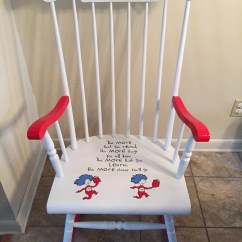 Dr Seuss Chair Bedroom Sitting Room Chairs Adult Size Rocking Nursery By