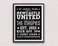 Newcastle united | Etsy UK