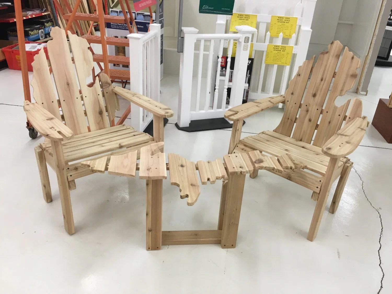 michigan adirondack chair cheap bean bags chairs cedar