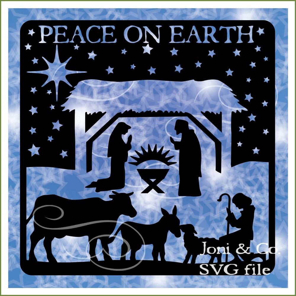 Download Nativity Christmas svg File Nativity Nativity Scene by ...