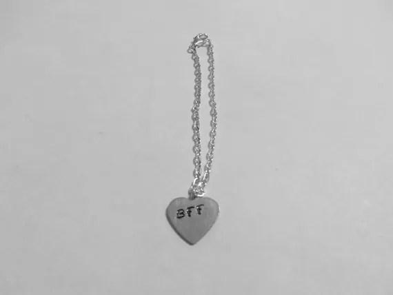 Silver BFF Charm Bracelet