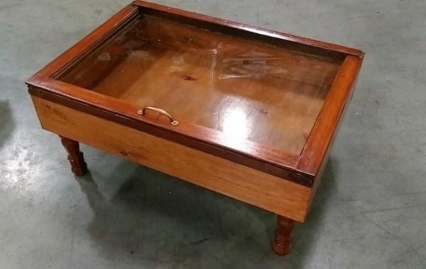 Shadow Box Display Coffee Table