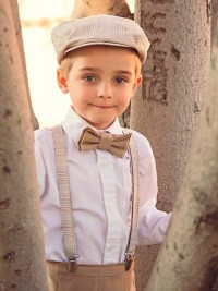 Boys Bow tie Drivers Hat Suspender set size 3 by kbpdesigns