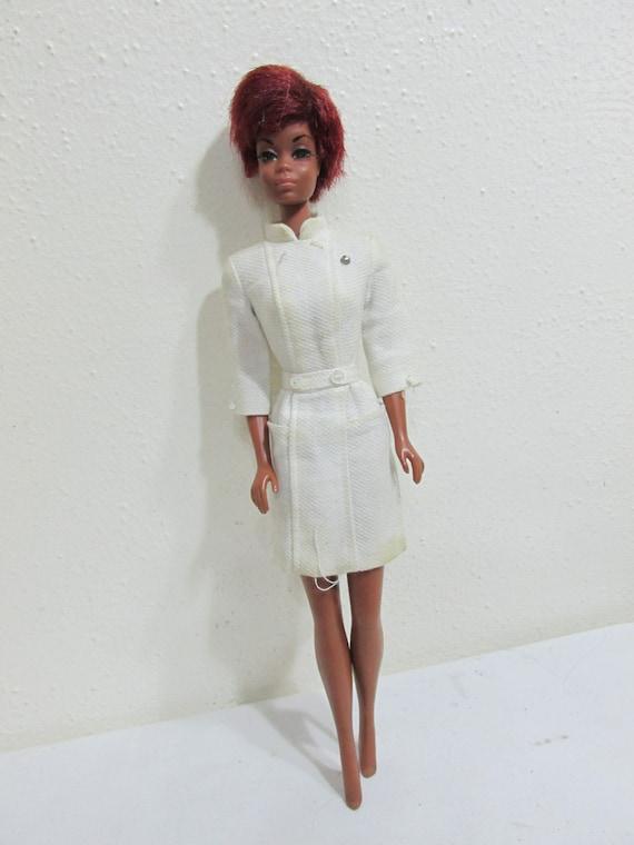 Nurse Julia Barbie Doll Diahann Carroll 1966 Mattel