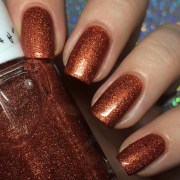 burn bright - orange nail polish