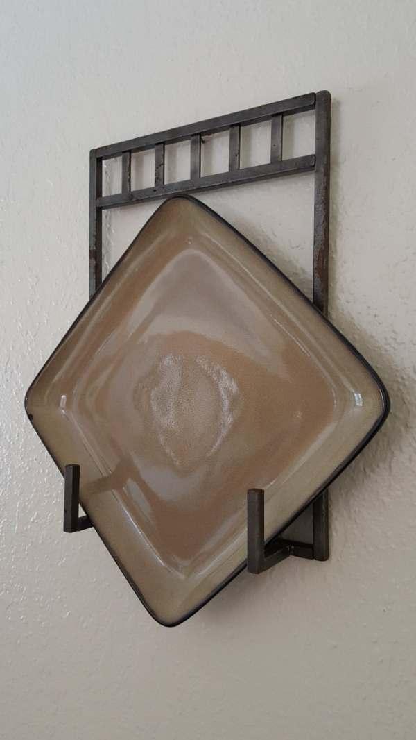 Iron Wall Plate Holder