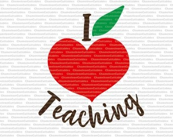 Download Heart apple svg | Etsy