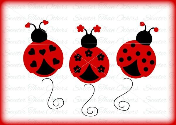 ladybugs ladybug girl insect svg