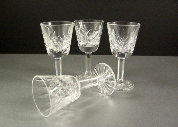 Lismore Waterford Crystal Shot Glasses