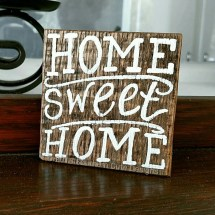Home Sweet Sign Wood Signs