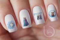 Frozen Nail Decal, Frozen Movie, Frozen Stickers, Nail ...