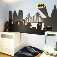 Gotham City Wall Decal Superhero Wall Decal Avengers Room