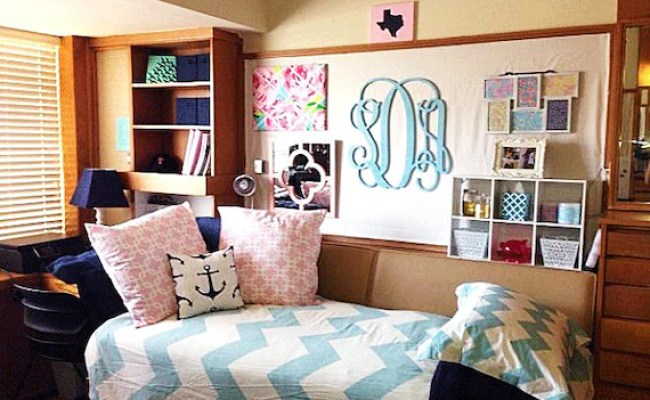 Dorm Room Decor Wooden Monogram Wall Hanging Dorm Room