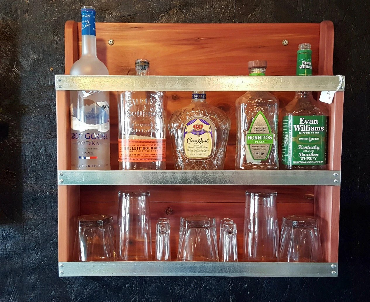 Liquor Cabinet Mini Bar Handcrafted Cabinet By
