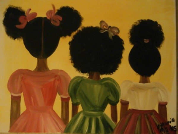 Original African American Art Painting