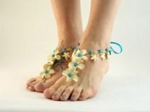 Starfish Barefoot Sandals Tropical Jewelry Beach