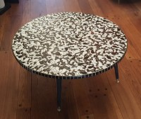 Items similar to Mid Century Mosaic Coffee Table on Etsy