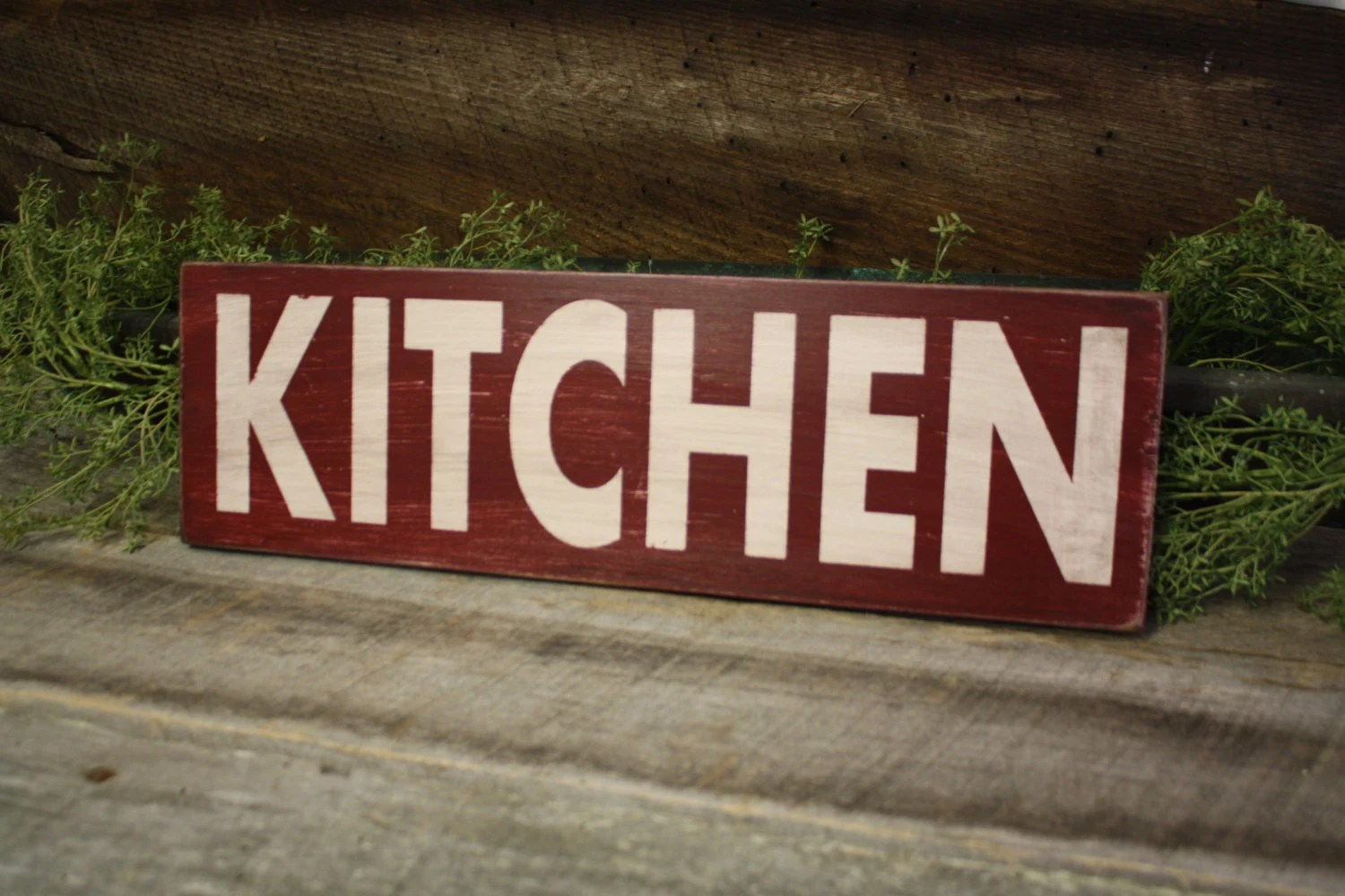 wooden signs for kitchen easy backsplash sign fixer upper style