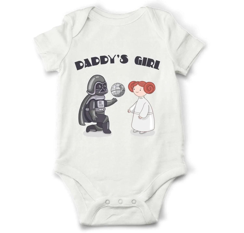 Star Wars Baby Girl Bodysuit Daddy S Girl Star Wars