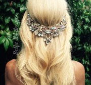 wedding hair jewelry chain