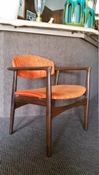 Selig Chair Danish Modern Extra Wide Seat Vintage Mid ...
