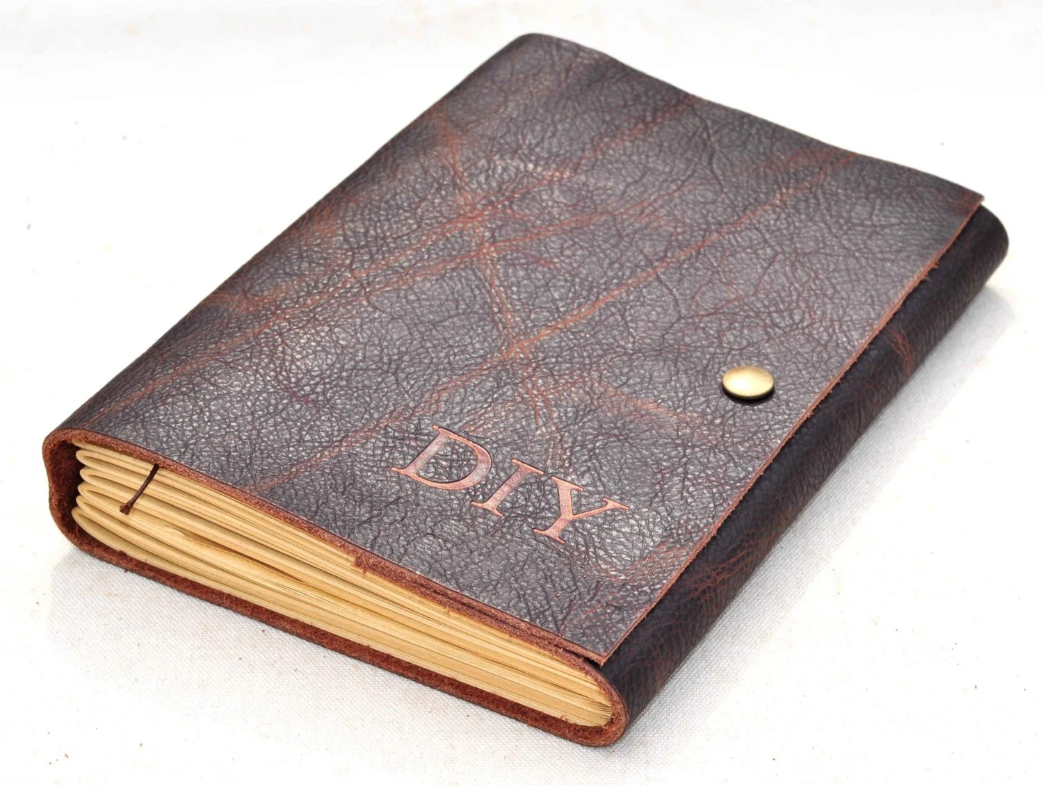 Personalized Unique Leather Journal Gift For Him For Herfree