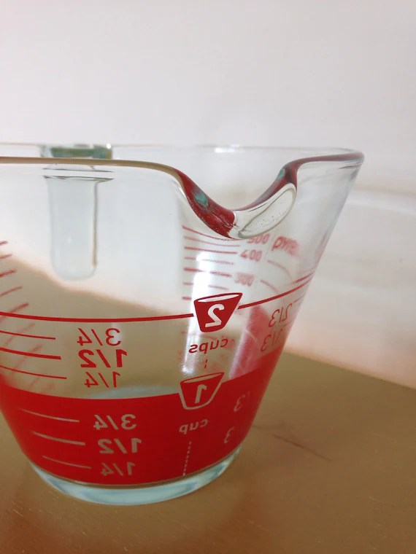 Pyrex reverse print measuring cup Pyrex 2 cup measuring cup