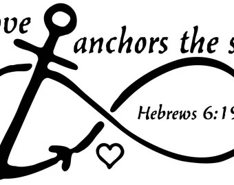 Download Infinity anchor art | Etsy
