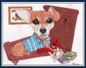 Caricature, Dog Drawing, ...