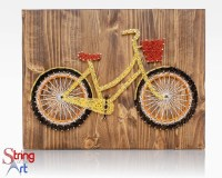 String Art DIY Kit String Art Bicycle Bike Decor Crafts