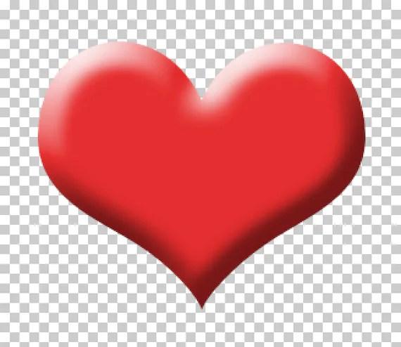 Digital Heart Instant Download Heart Clip Art Heart