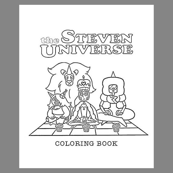 the steven universe coloring book