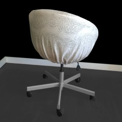 Ikea Linen Chair Covers Air Horn Office Prank Customized Skruvsta Slip Cover Manchester