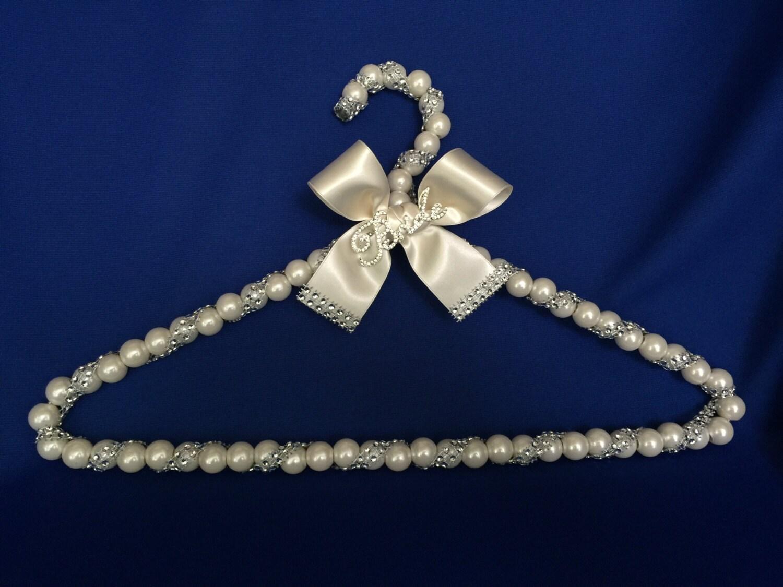 Bridal Hanger Wedding Dress Hanger Dress Hanger With Brooch
