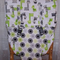 Portable High Chair Cover Full Body Massage Travel Sling Or For