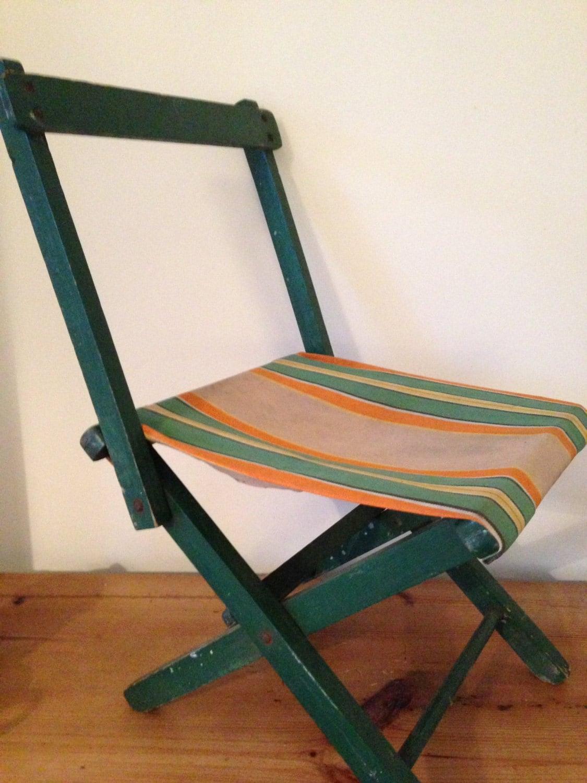 fishing ladder chair diy bean bag filling child 39s striped converting camping stool