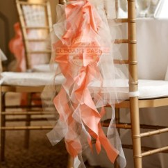 Wedding Chair Sash Accessories Bobs Furniture Chairs Set Of 10 Custom Sashes Curly Accents & Optional