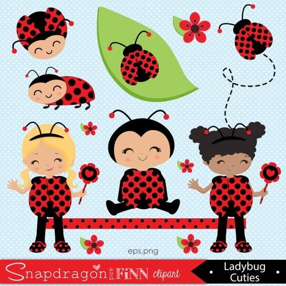 ladybug girl clip art cliparts
