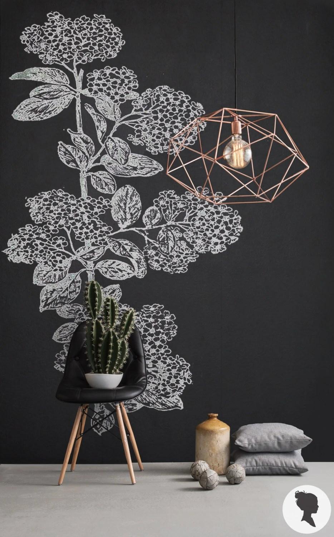 Chalkboard Removable Wallpaper Blackboard Self Adhesive