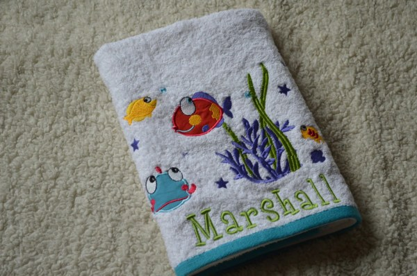 Kids Personalized Bath Towels