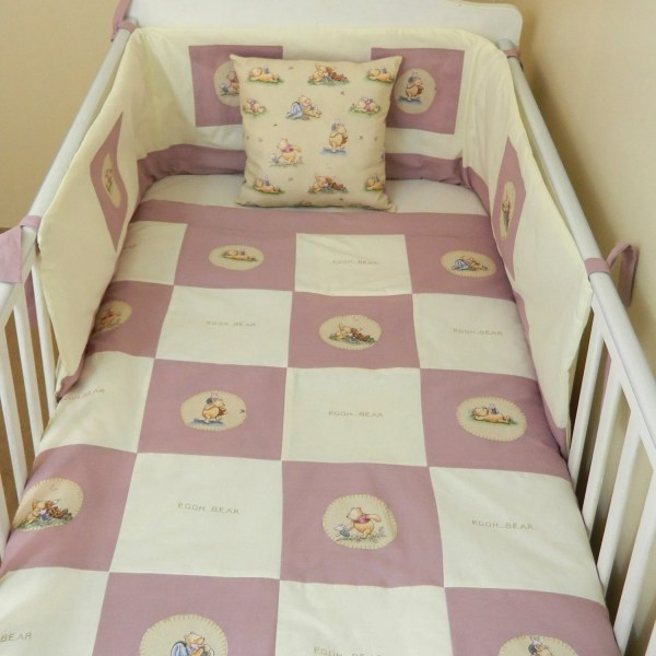 Classic Winnie Pooh Baby Bedding