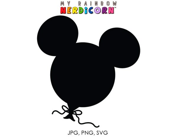 svg dxf cutting file mickey